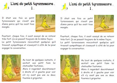 TAPUSCRIT L'ami du petit tyrannosaure