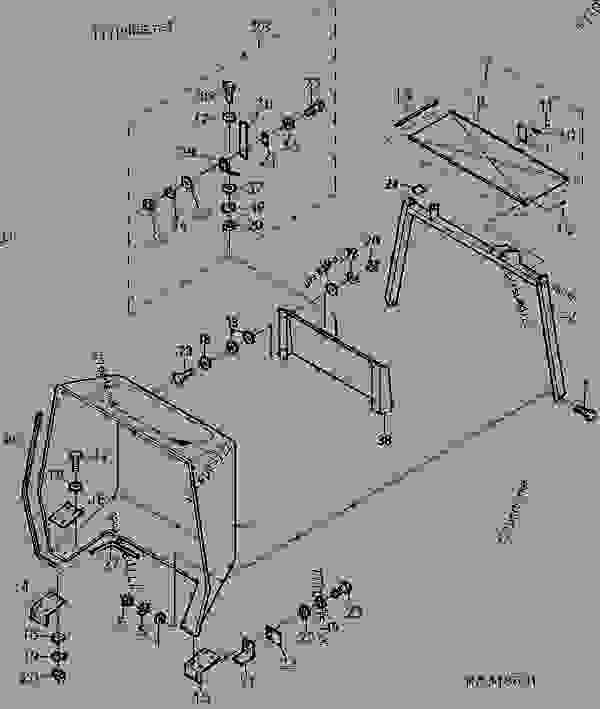 John Deere F935 Parts Diagram
