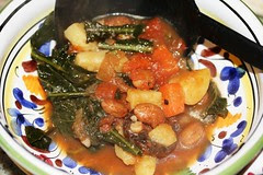 16 bowl of kale soup