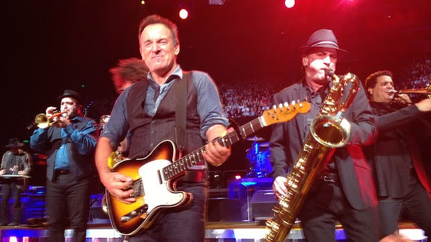 Bruce Springsteen played ten shows across Australia.