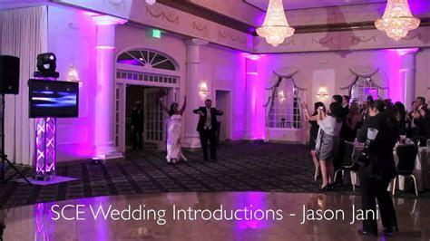 Jason Jani SCE host a wedding at the Valley Regency, NJ