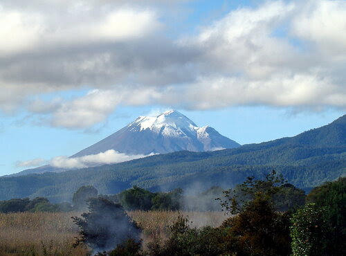 дымящаяся гора