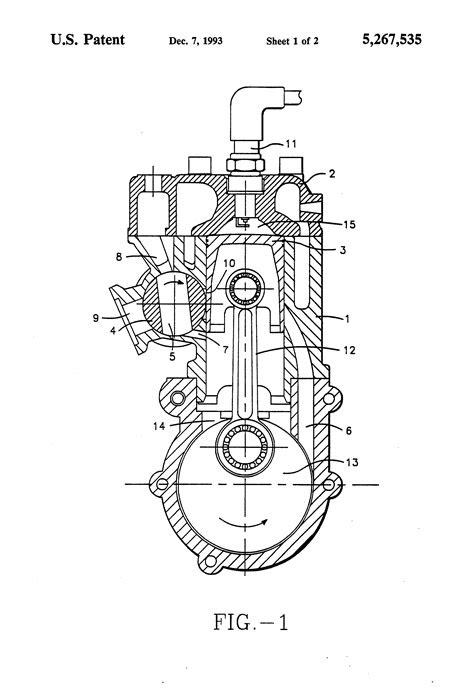 Patent US5267535 - Rotary exhaust valve for two-stroke