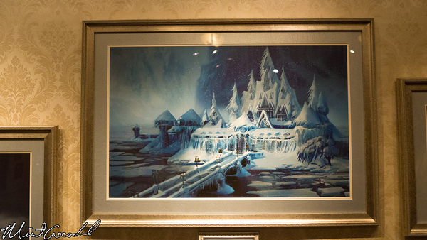 Disneyland Resort, Disneyland, Opera House, Frozen, Snow, Queens, Art of Ice