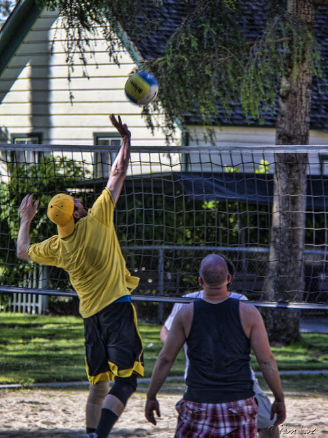 Volleyball at Apollo Park