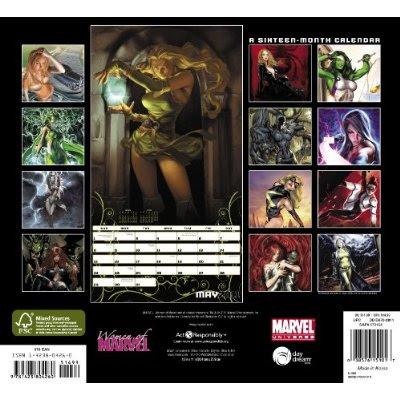Women of Marvel 2011 Calendar