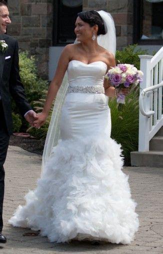 Alita Graham exclusively Kleinfeld Size 3 Wedding Dress