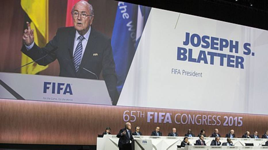 Presidente Joseph Blatter concorre ao quinto mandato na Fifa