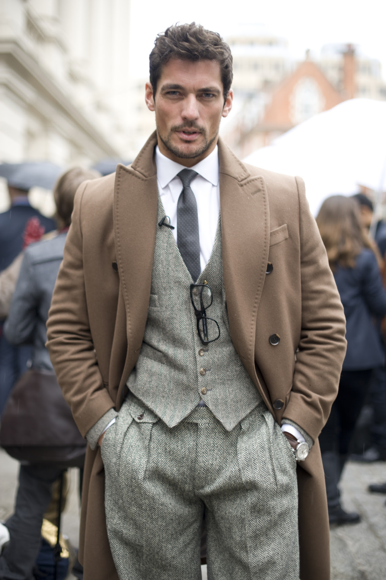 "We're petitioning the Oxford English Dictionary to take out their current definition for ""dapper"" and replace it with this photo of Mr David Gandy"