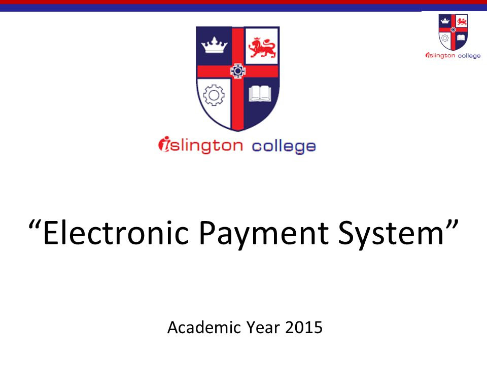 Electronic+Payment+System
