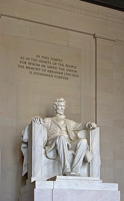 Daniel Chester French's sculpture inside the L...