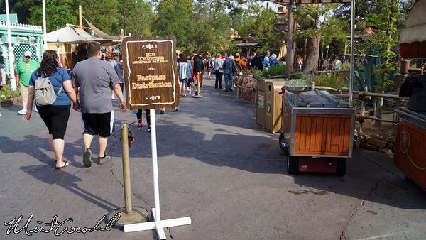Disneyland Resort, Disneyland, Big Thunder Mountain Railroad, Fast Pass, Distribution