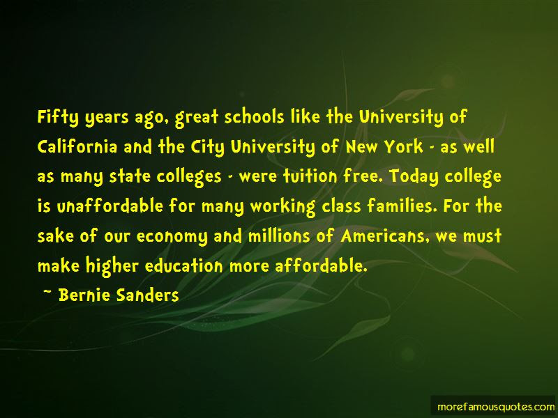 Quotes About Free College Tuition Top 6 Free College Tuition Quotes
