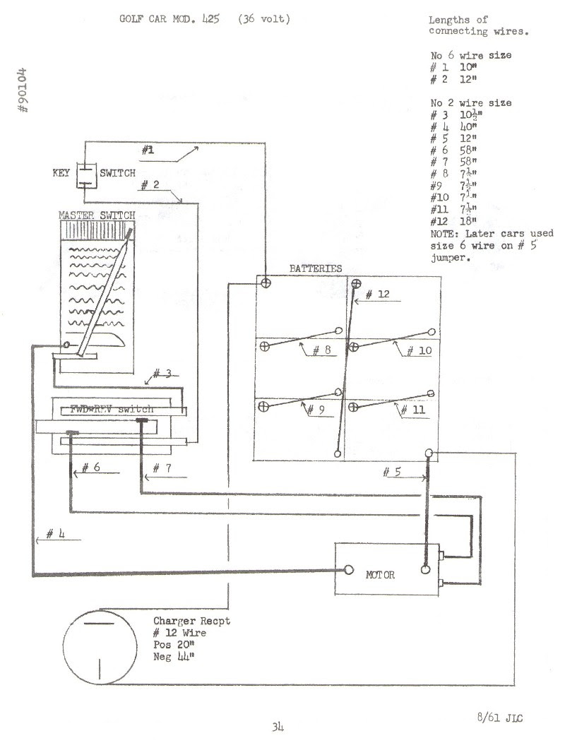Ez Go 36 Volt Wiring Diagram 1994