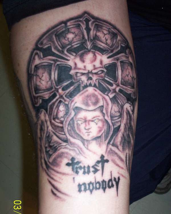 Trust Nobody Tattoo