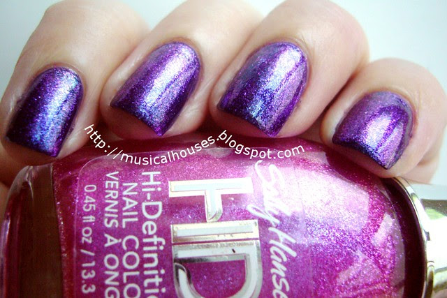 duochrome manicure sally hansen dvd spectrum nails inc belgrave place 2
