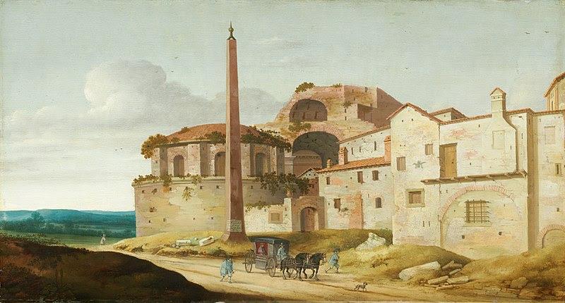 File:Church of Santa Maria della Febbre, Rome-1629-Pieter Jansz. Saenredam.jpg