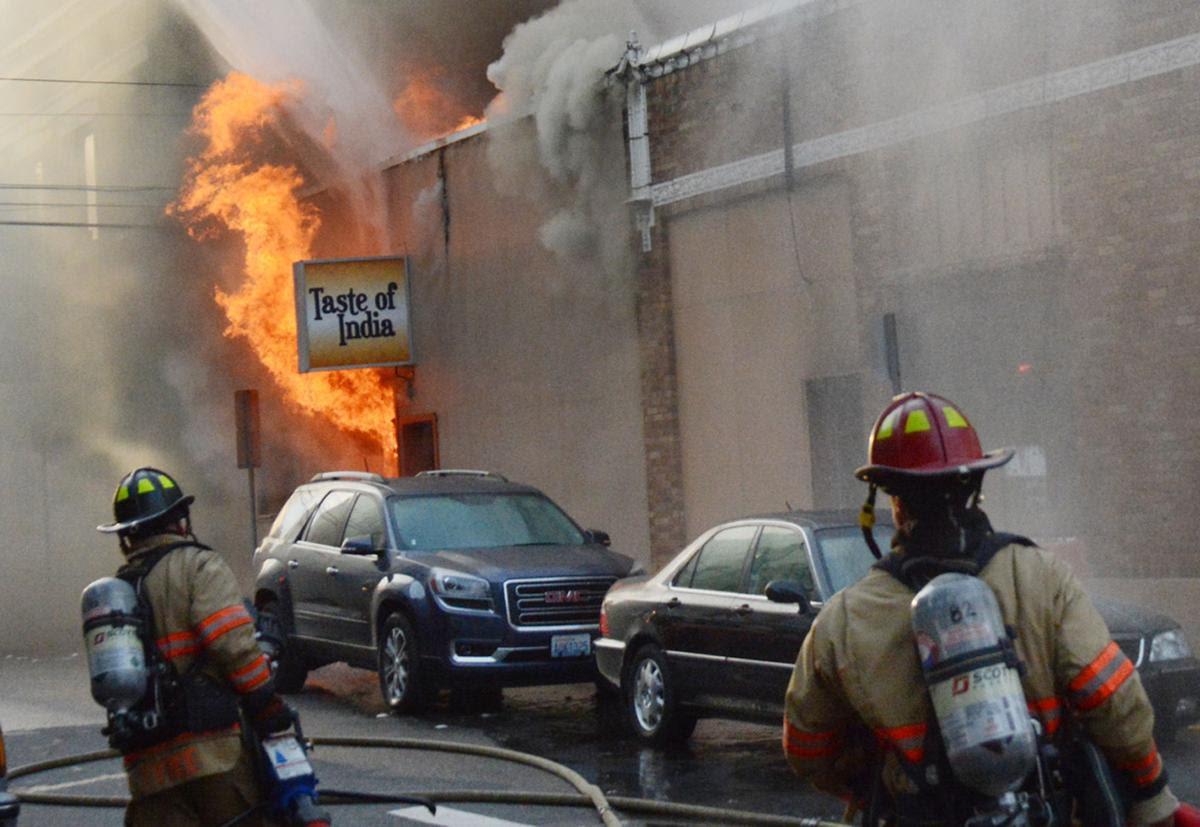 Massive Fire Destroys Several Businesses In Mount Vernon