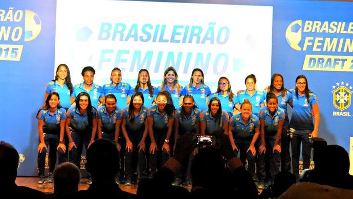 draft Brasileirão feminino (Foto: Cintia Barlem)