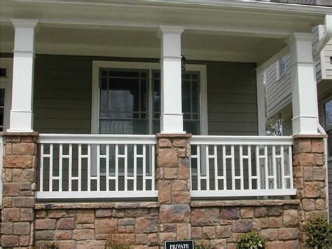 vinyl porch railings  posts vinyl porch railing kits