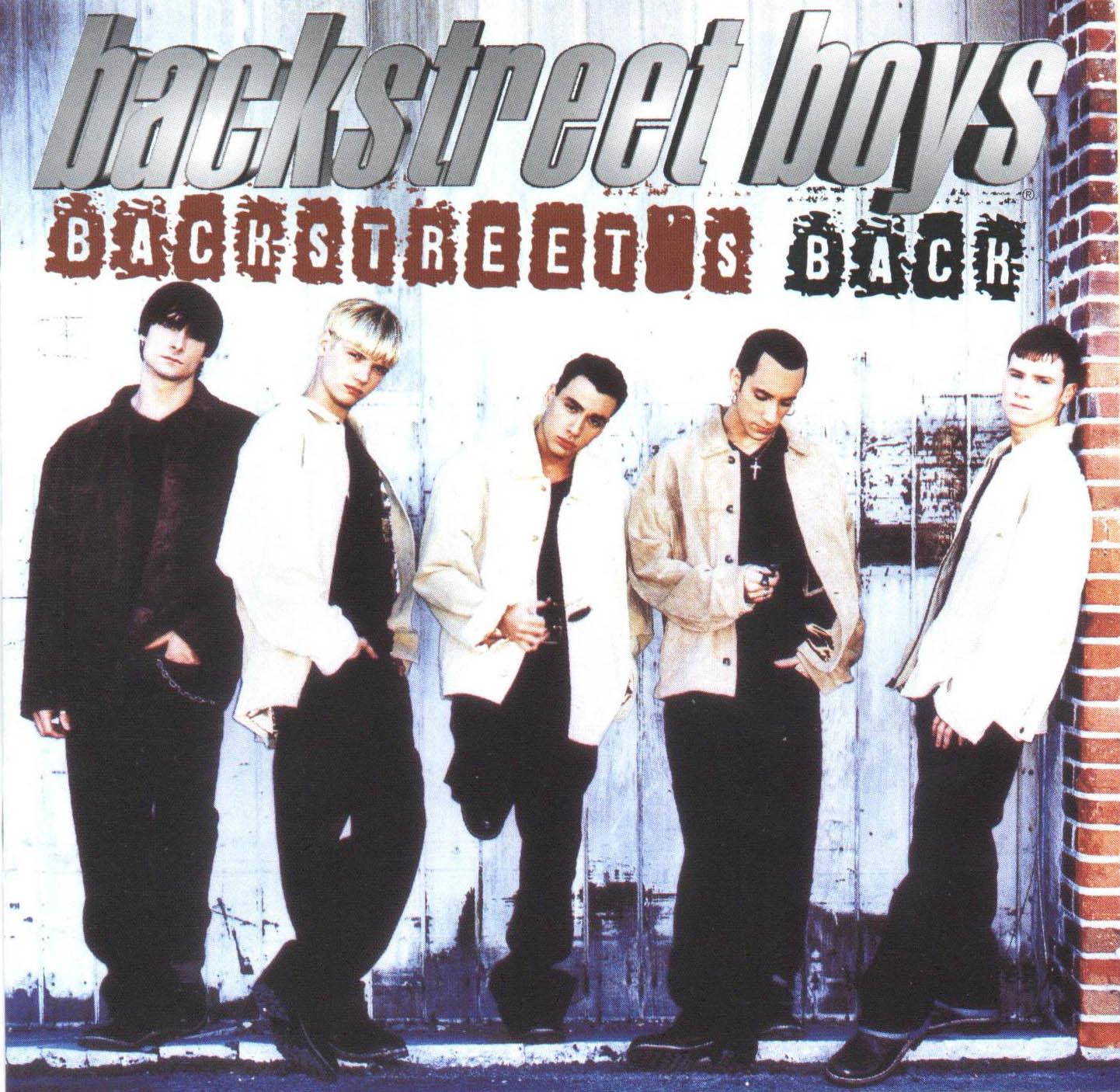 Carátula Interior Trasera de Backstreet Boys - Backstreet's Back