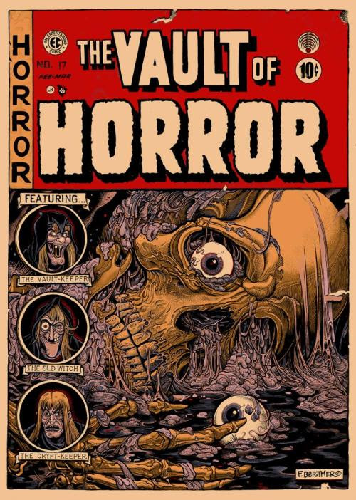 The Vault of Horror by Florian Bertmer