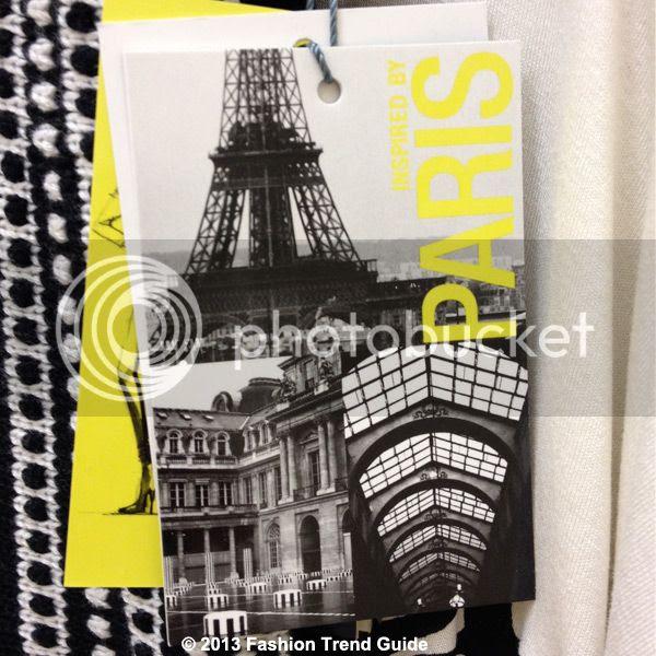 Catherine Malandrino for Kohl's DesigNation clothing hang tags