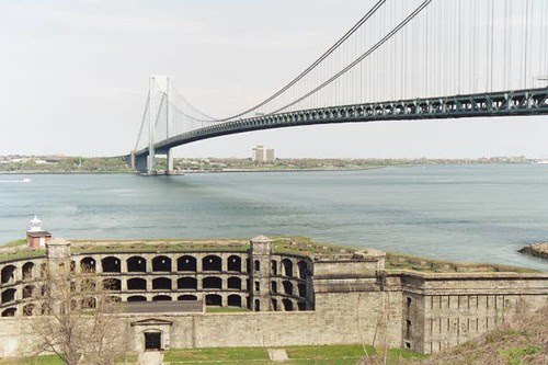 Fort Wadsworth and Verrazano Narrows Bridge