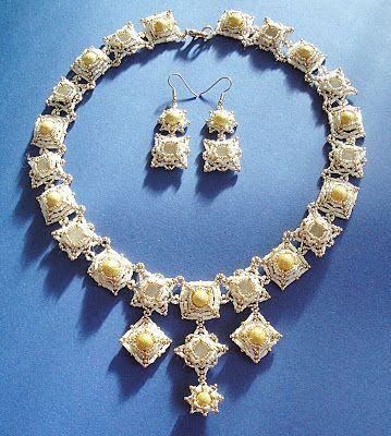 Not without my beads – Nicht ohne meine Perlen: Sternenstaub-Schmuckset / Stardust-Jewelry-set