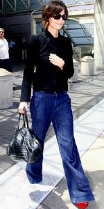 Katie Holmes wearing J Brand