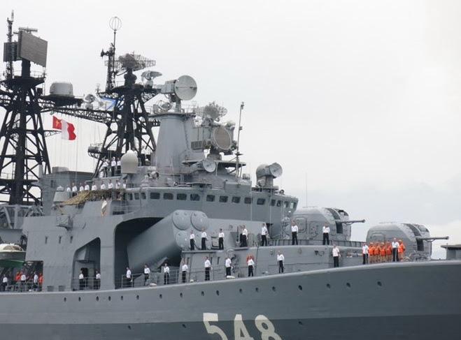 Hình ảnh Cận cảnh sát thủ săn ngầm của Hải quân Nga đến Đà Nẵng số 5
