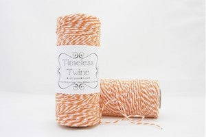 Image of Pumpkin Orange Bakers Twine ~ Timeless Twine™