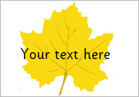 Autumn Leaves Editable Self Registration Labels | Free Early Years ...