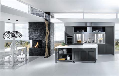 grey white kitchen design stylehomesnet