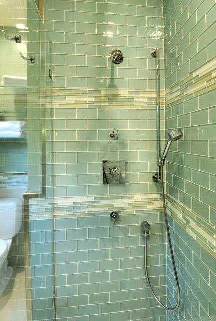 Retro Bathroom - Contemporary - Bathroom - other metro ...