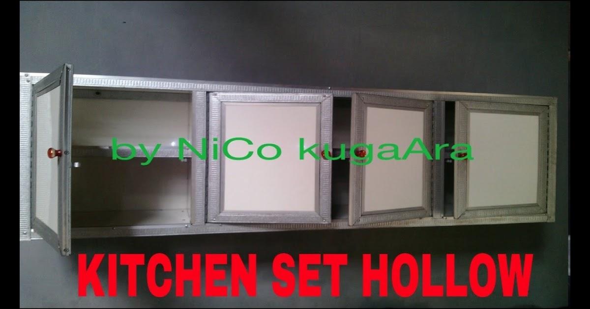 53 Kitchen Set Besi Hollow Inspirasi Top