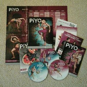 beach body   sealed piyo dvd workout
