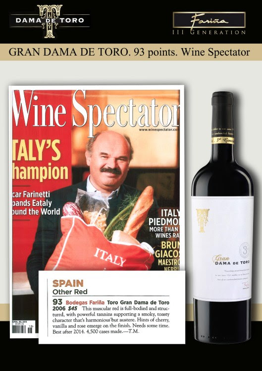 93 puntos en Wine Spectator