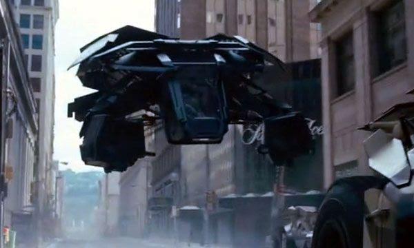 The Bat... Batman's new aerial vehicle in THE DARK KNIGHT RISES.