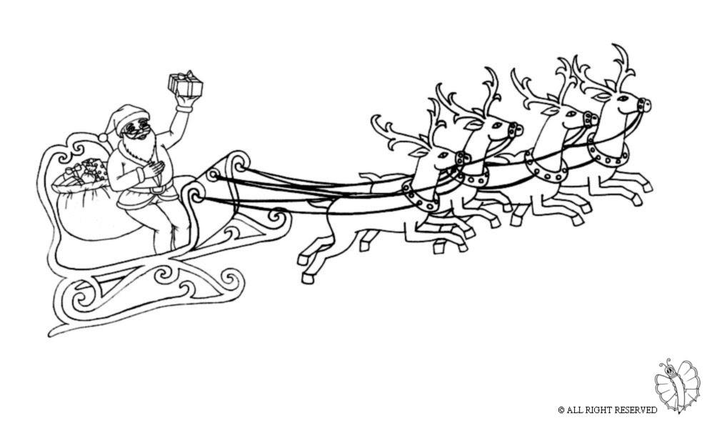 Disegni Di Babbo Natale Da Colorare Per Bambini Coloratutto Website