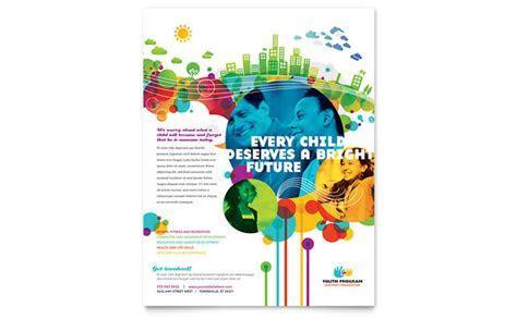 Youth Program Flyer Template Design