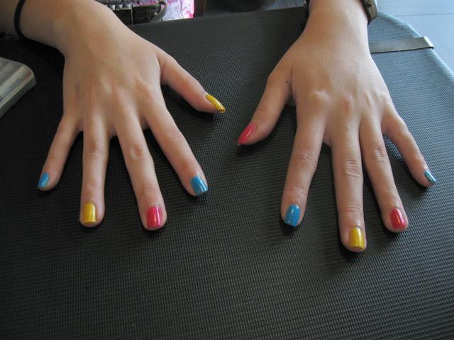 CMYK nails