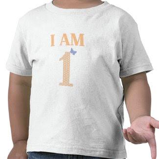 I AM ONE Birthday T-Shirt zazzle_shirt