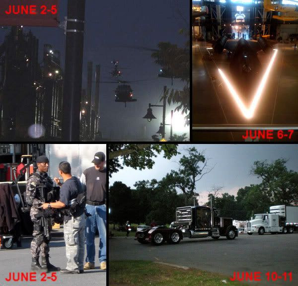TRANSFORMERS 2 Filming Montage.