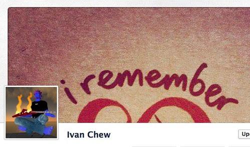 Facebook timline cover - Ivan Chew