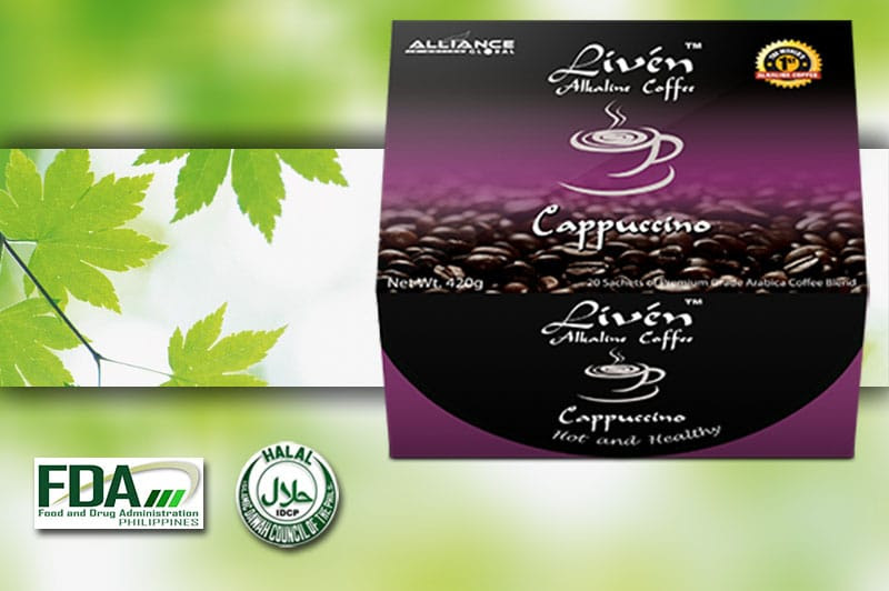 LIVEN COFFEE-CAPPUCCINO - Alliance in motion global