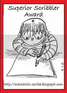 Super Scribbler Award
