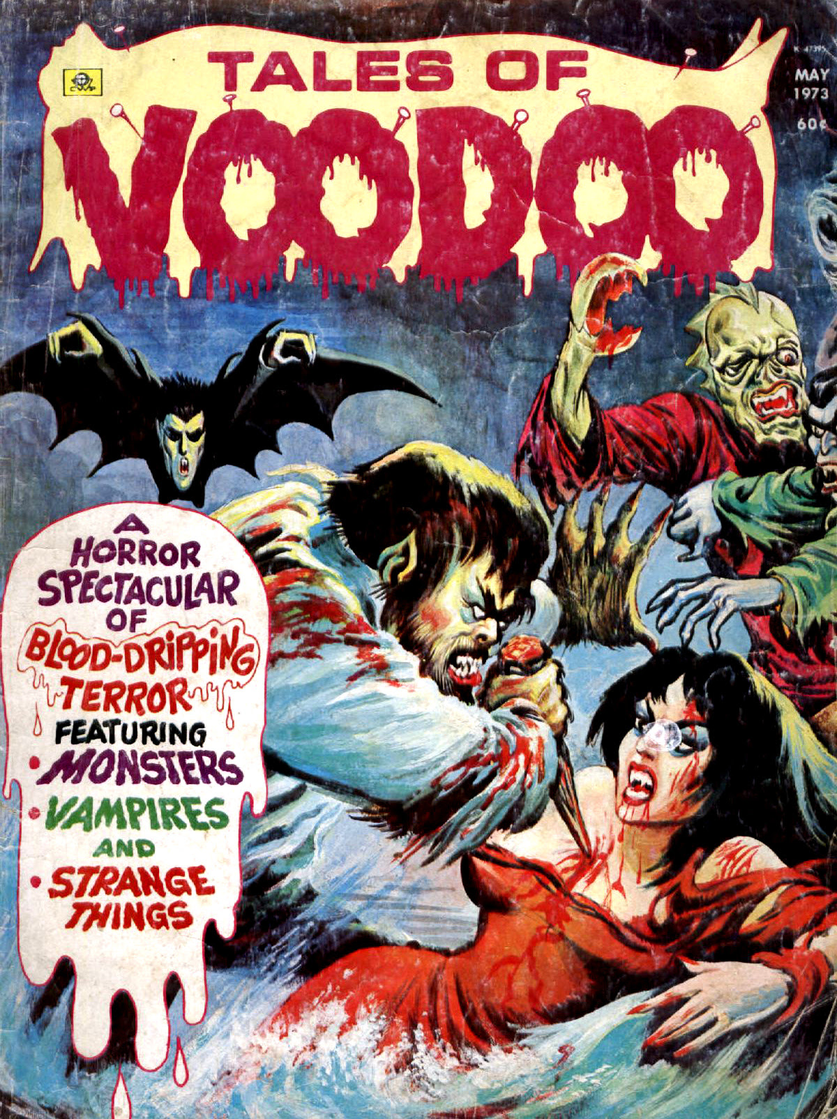 Tales of Voodoo Vol. 6 #3 (Eerie Publications 1973)