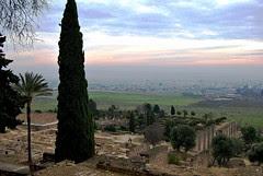 13 Madinat al-Zahra Jardín alto y muralla 15331