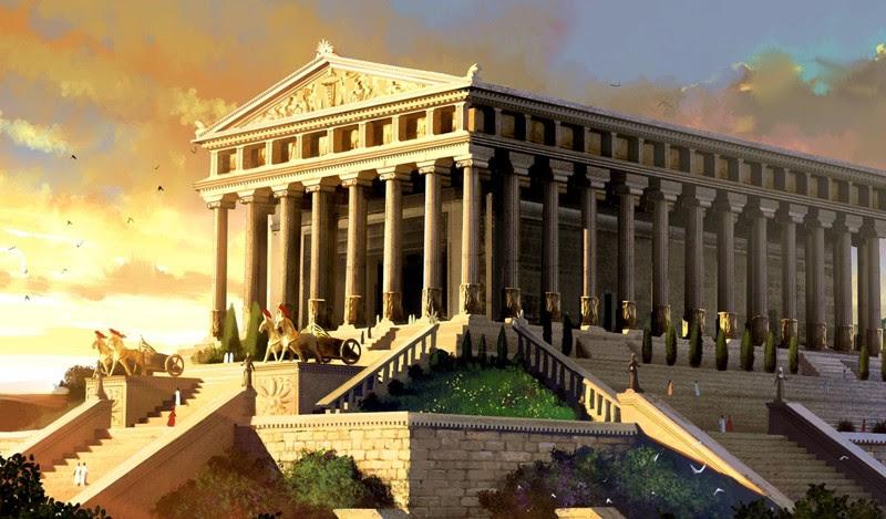 Храм Артемиды Эфесской (Эфес, Турция) — Собор Святого Петра (Ватикан). интересное, история, монументы, чудеса света